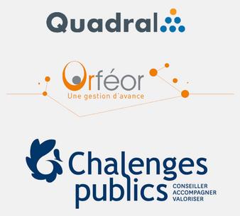 QUADRAL / CHALENGES PUBLICS / ORFEOR : UN GROUPEMENT DE COMPÉTENCES AUX SERVICES DES COLLECTIVITÉS