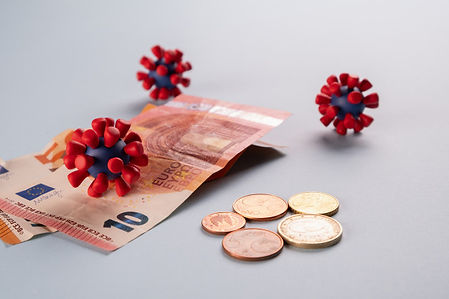 euro-money-coins-models-covid-19-virus-c