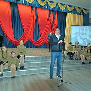 """Торжественное мероприятие """"Это наша с тобой биография"""" к 100-летию ВЛКСМ"""