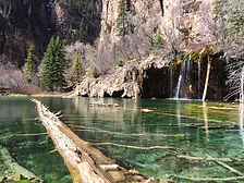Hanging Lake taken by Holly Beavers Private Yoga Reiki Life Coaching Vail Beaver Creek