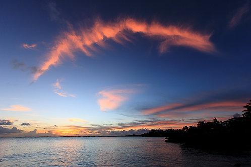 Sunset Cloud Bow