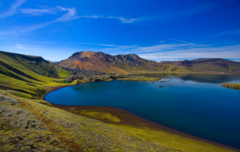 Blue Lake ~ Iceland