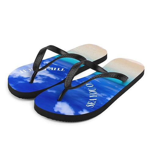 Flip-Flops - sea you on the beach