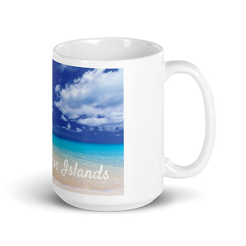 White Mug TCI - Beach