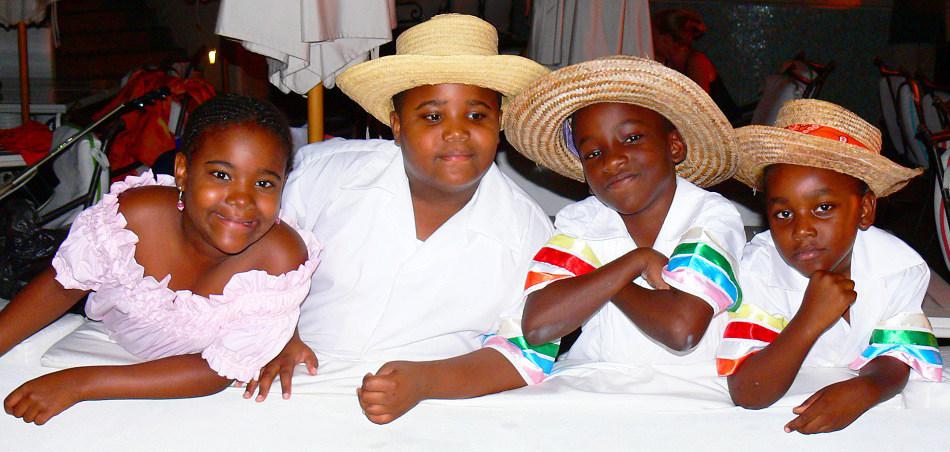 Children of he Turks & Caicos