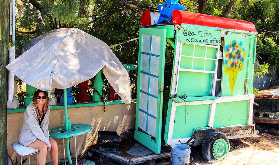 Caribbean Ice Cream Parlor - Turks & Caicos Islands