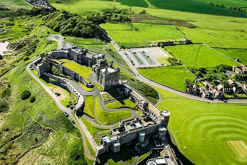 Bamburgh Castle Mounted Medium Fine Art Print