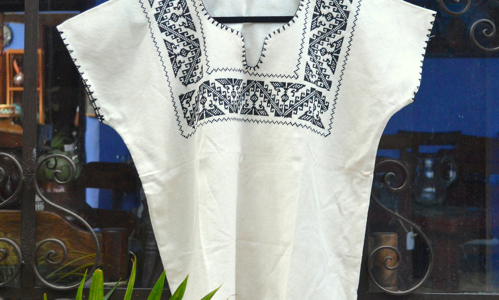 Hand-Embroidered Blouse