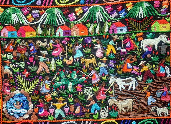 Tapestry Wall Hanging by Salud Barriga Estrada