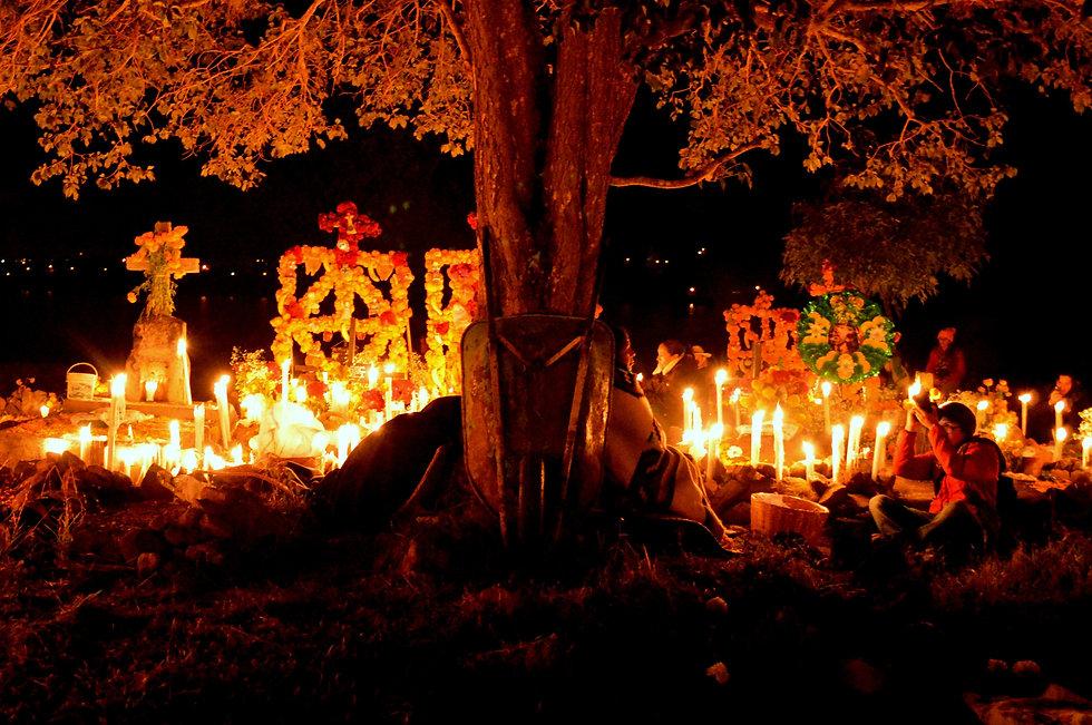 Dia de Muertos - Isla de Pacanda, Michoa