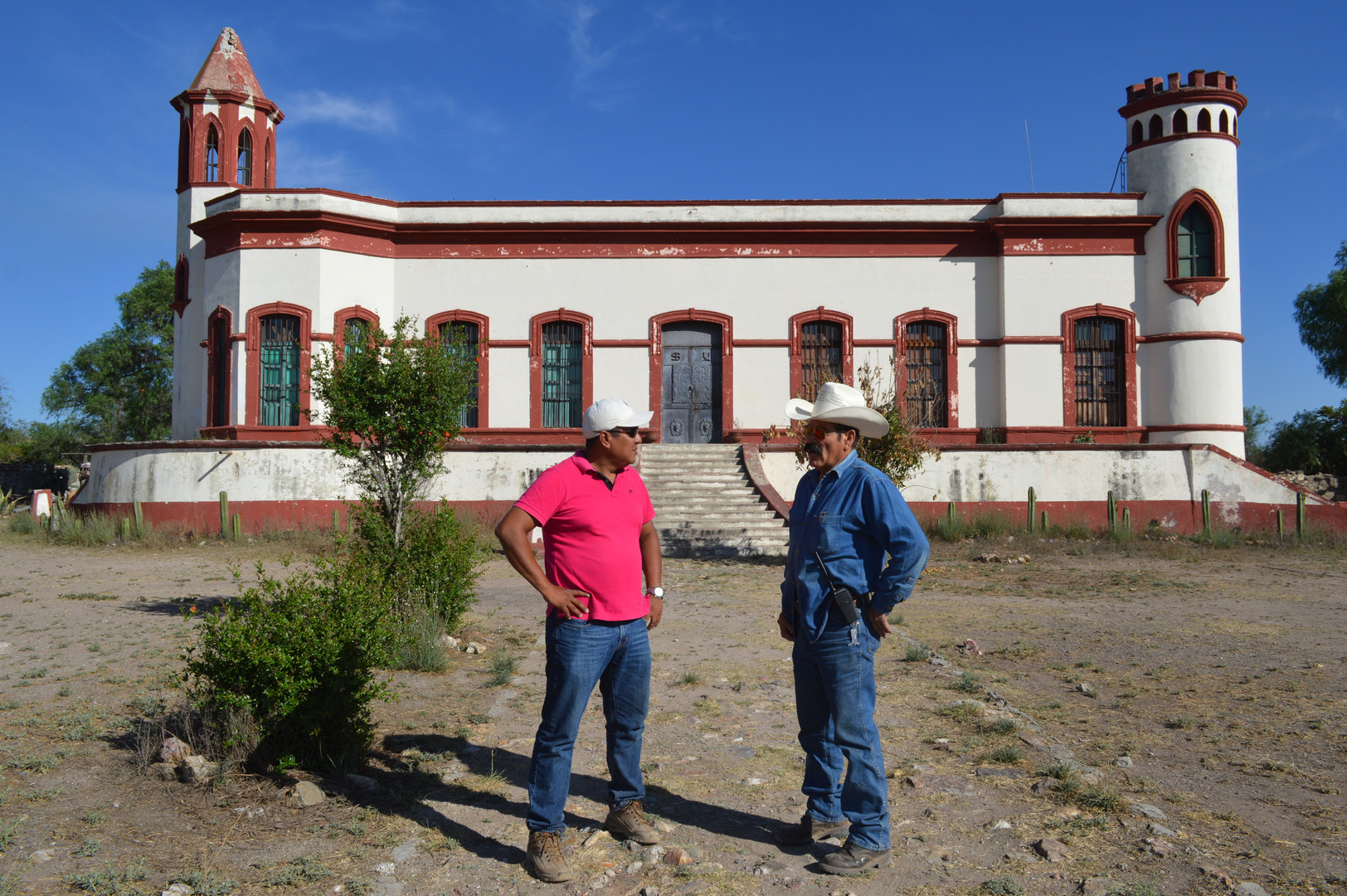 Santa Brigida Mine - Mineral de Pozos- G