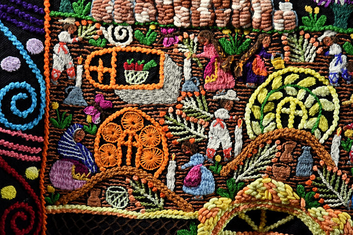 Hand Embroidered Tapestry from Mexico (15).JPG