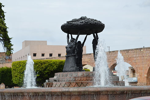 P'urepeecha Fountain - Morelia Michoacan