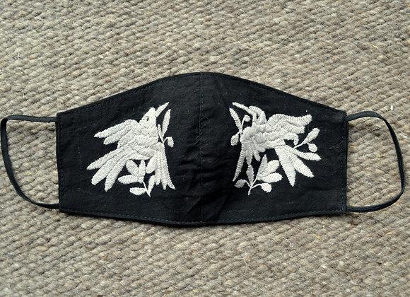 Black & Grey Otomi Masks