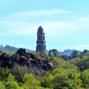 The Ruins of San Juan Parangicutiro