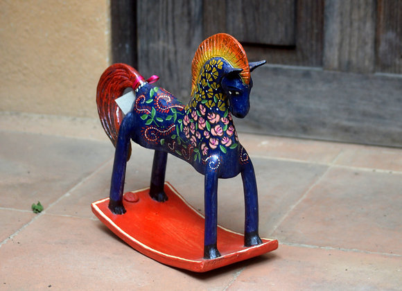 Ceramic Rocking Horse by Juan Torres Studio