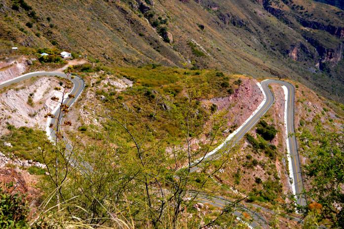 Road to Batopilas, Chihuahua