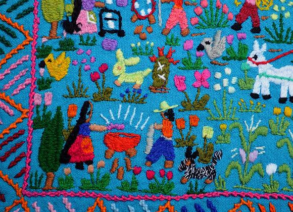 Village Life by Carmen Barriga
