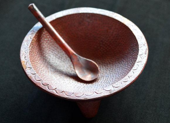 Artisan Molcajete Salt Dish