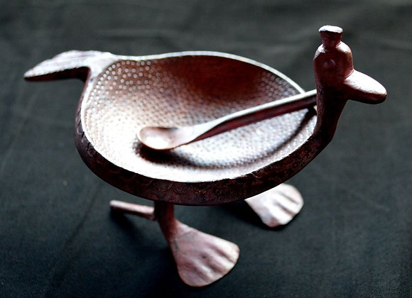 Artisan Duck Salt Dish