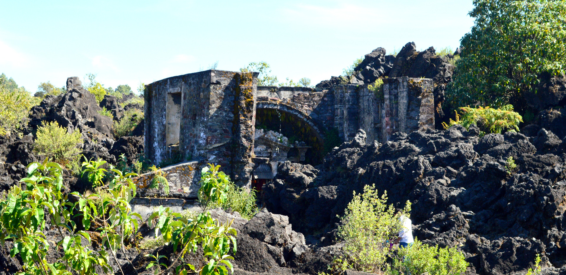 San Juan Parangaricutiro - Paricutin Vol