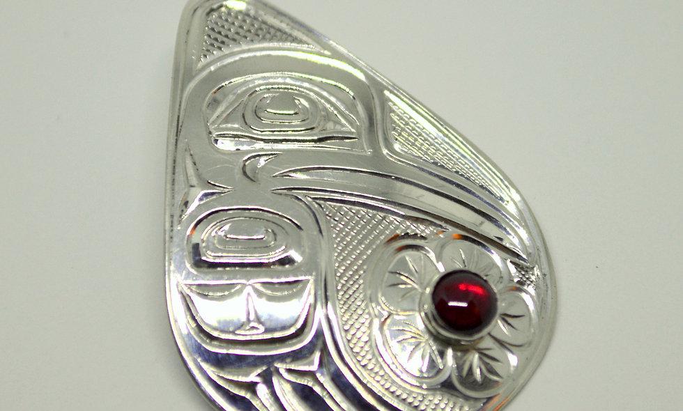 Hummingbird Pendant by Chris Cook III