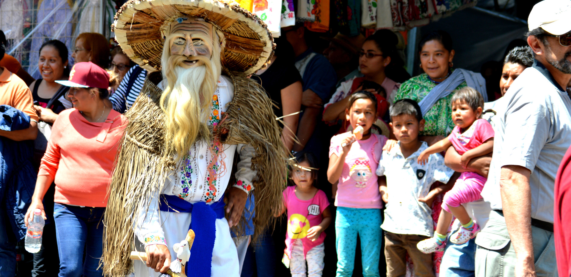 Domingo de Ramos Parade in Uruapan, Mich
