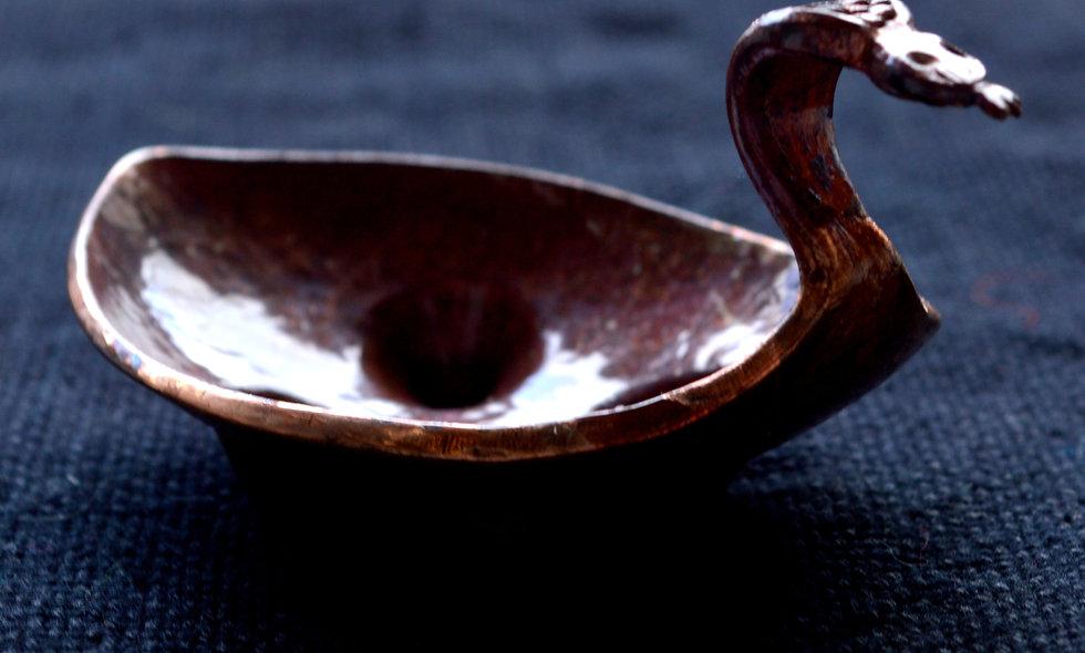 Miniature Cobra Bowl by Sergio Velasquez