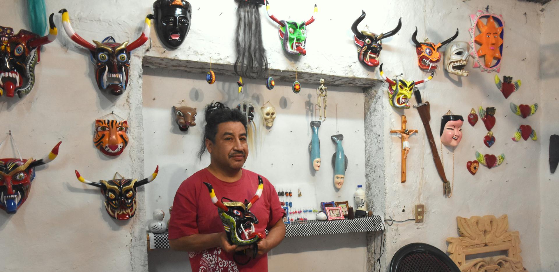 Manuel Abeiro Horta, Tocuaro Michoacan