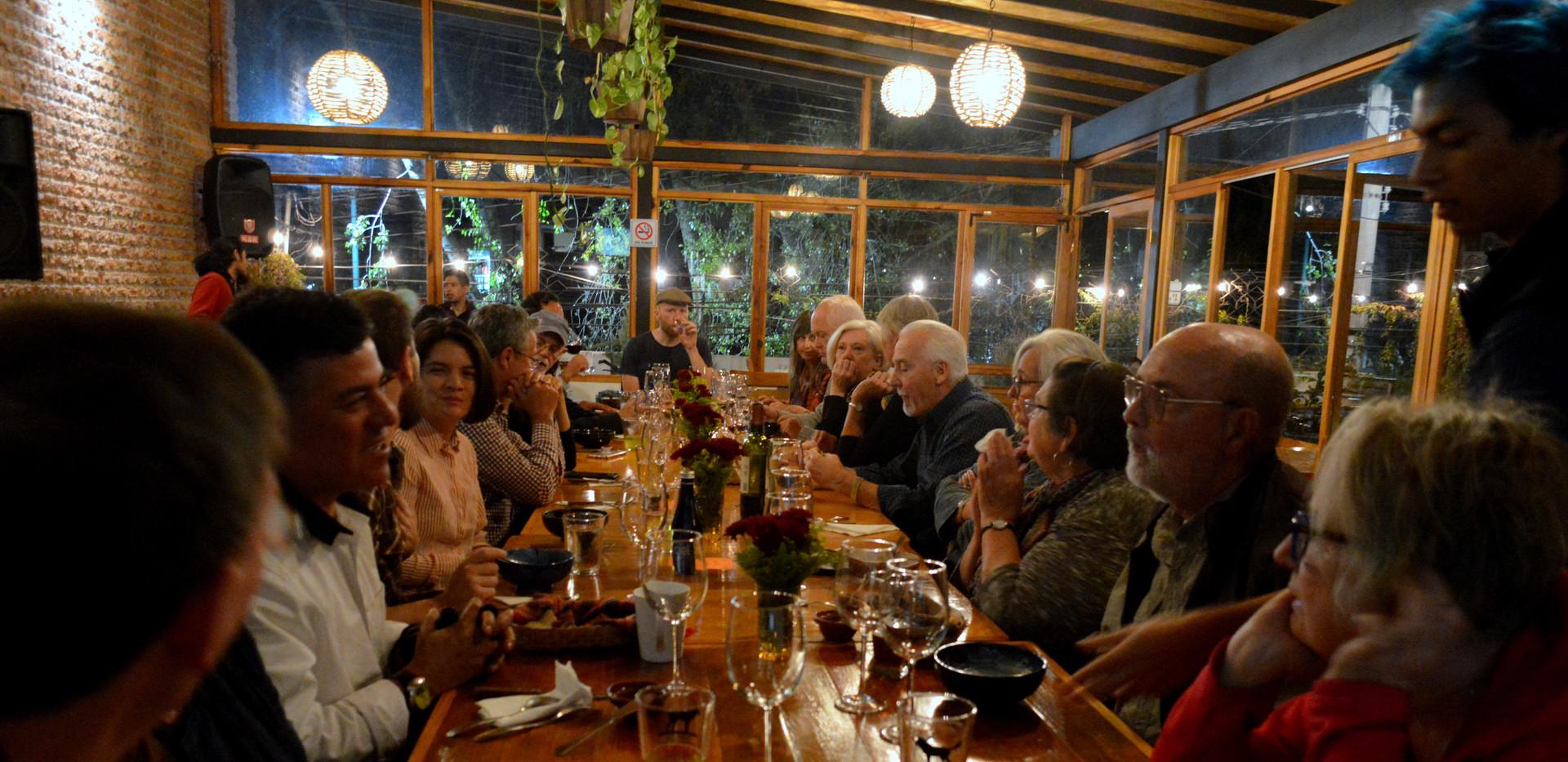 Cielo Cocina Fusion Dinner Presentation