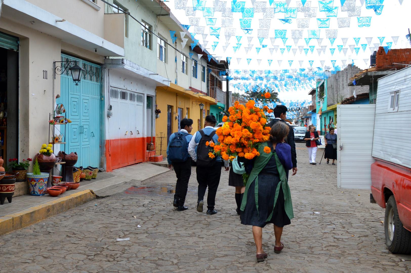 Dia de Muertos - Capula, Michoacan Mexic