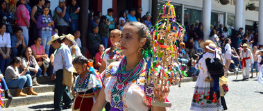 Domingo de Ramos Parade, Uruapan Michoac