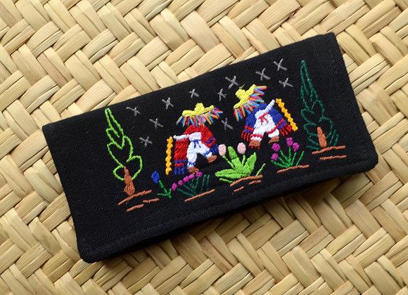 Folk Art Wallet - Danze de los Viejitos