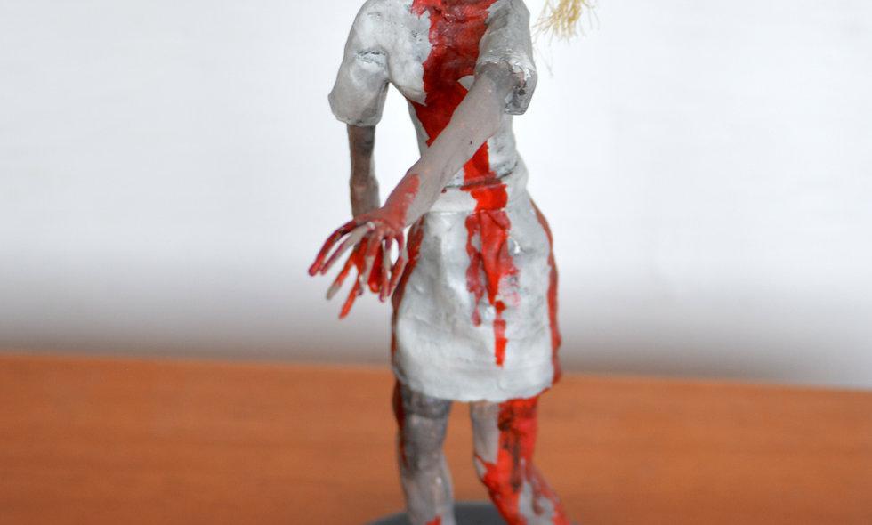 Paper Mache Zombie
