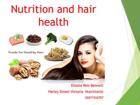 Book now - Nutrition & Hair health workshop