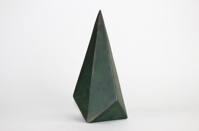 Steel Crystal - Green Braydon Gold