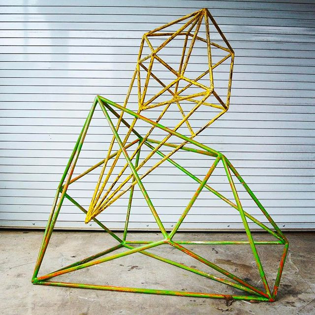 Irregular Polyhedron #11 Braydon Gold
