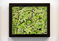 Reverse Glass Study #6 (Green)