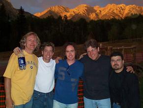 Milo Deering, Wojo, Jamey & drian before the Durango Concert.