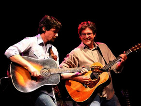 Playing with Zane Williams at the premiere of his Overnight Success CD release.
