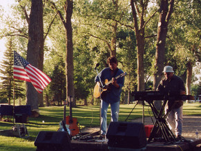 An afternoon concert with Adrian at The Riverton Summer Concert Series in Wyoming.