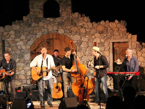 Playing with Jon Christopher Davis' Band at Wales Manor