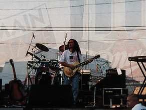 Texas State Fair with the band in '97