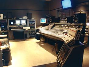 My studio with Neve 8058