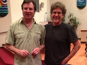 With best friend, multi-band member and monster guitar player Big Al Bettis, after a show in Pasadena, TX
