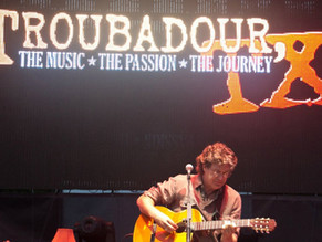 Performing Angelina at the Season 1 Finale of Troubadour, TX