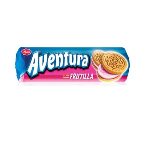 GALLETITAS AVENTURA  FRUTILLA 120 GRS