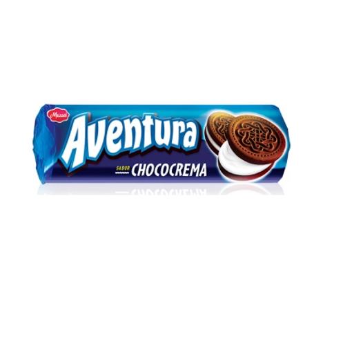 GALLETITAS AVENTURA  CHOCOCREMA120 GRS