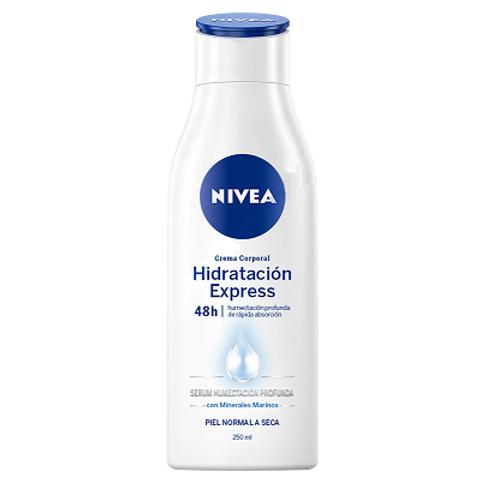 Crema Corporal Hidratación Express Nivea - 250 ML
