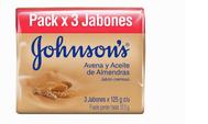 JABON ADULTOS JOHNSONS AVENAX 125 GR
